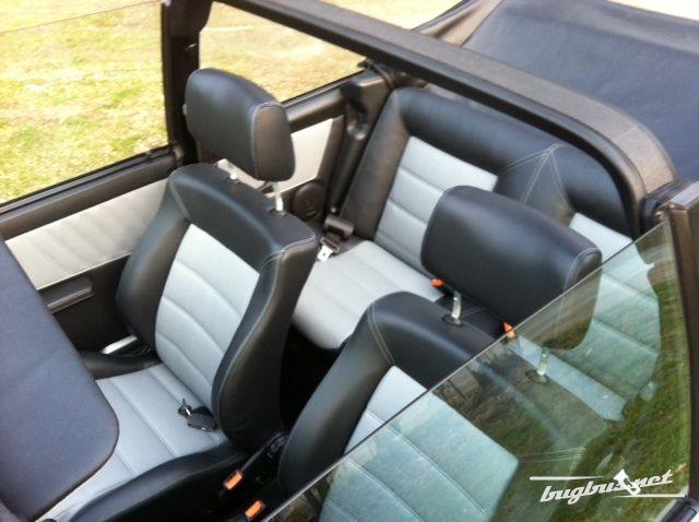 for sale vw golf 1 cabrio gti sitze neu bezogen top. Black Bedroom Furniture Sets. Home Design Ideas