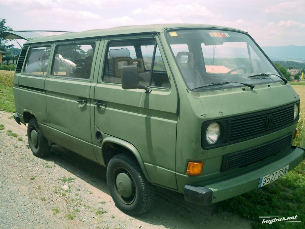 for sale vw transporter t3 militaire 1989 chf 6000. Black Bedroom Furniture Sets. Home Design Ideas
