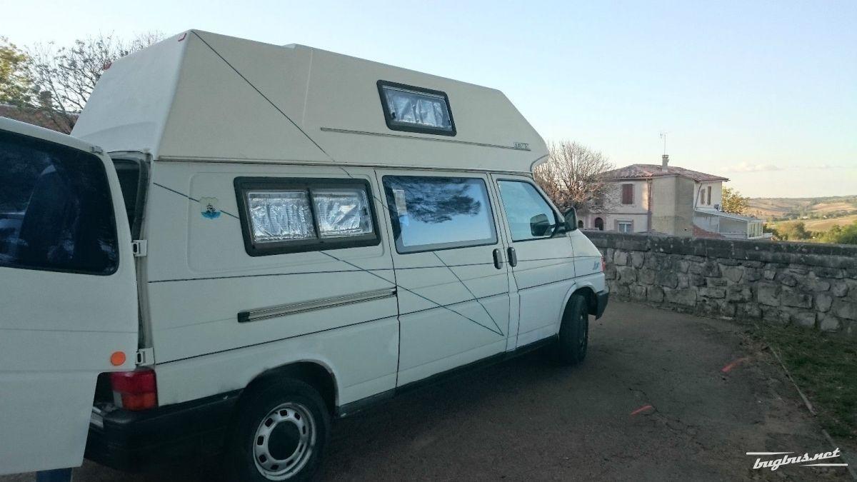 for sale vw transporter t4 diesel van camping car ct ok eur 3500. Black Bedroom Furniture Sets. Home Design Ideas