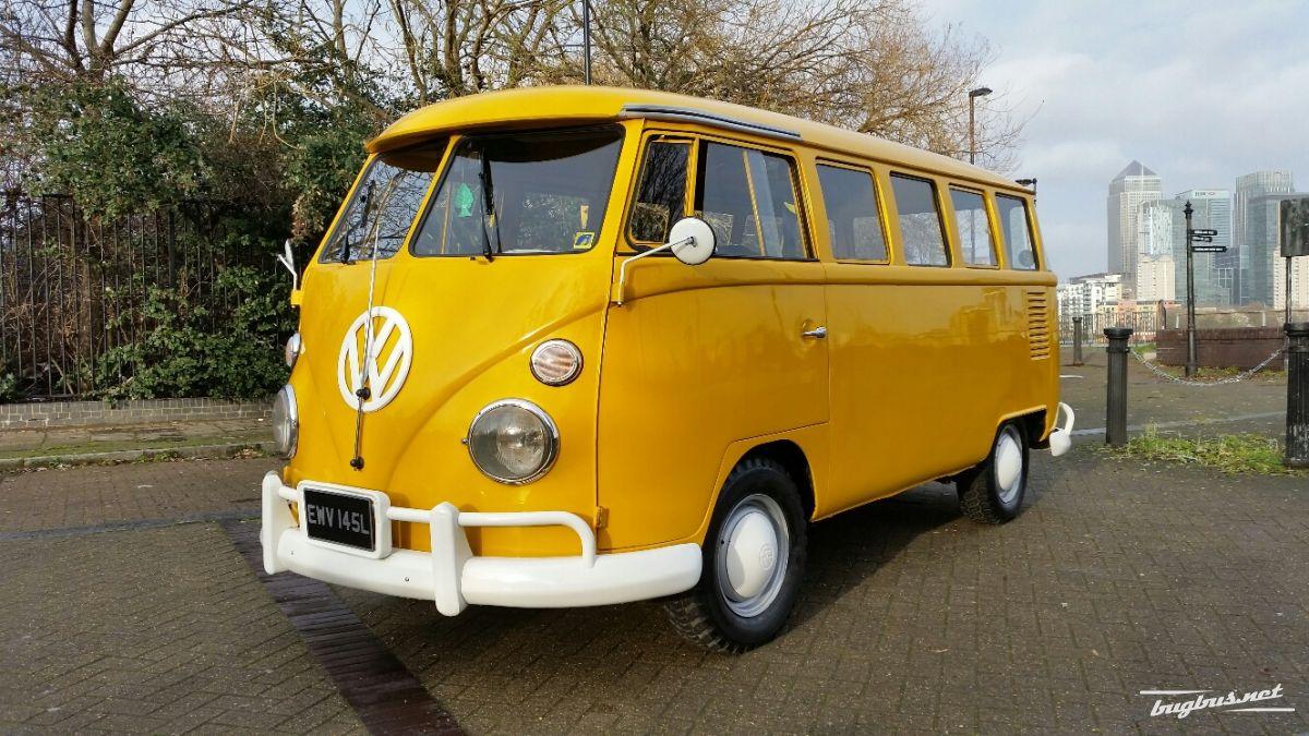 For sale vw splitscreen 15 windows bus gbp 17500 for 15 window bus for sale