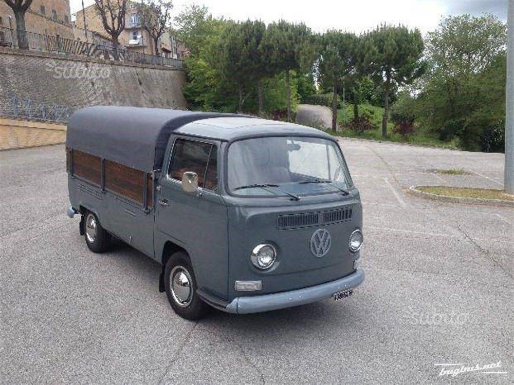 Te koop t2 pick up vw volkswagen eur 25000 for Furgone anni 70 volkswagen