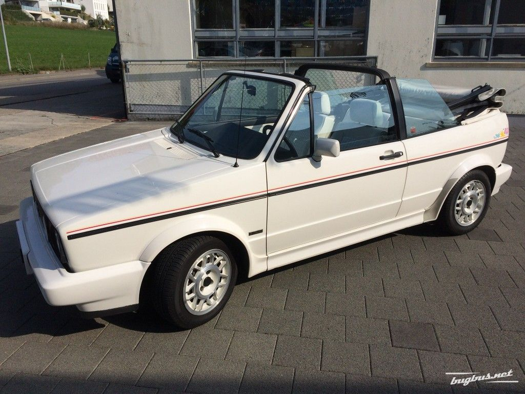 for sale vw golf 1 cabriolet 1800 gl quartett special white chf 13850. Black Bedroom Furniture Sets. Home Design Ideas
