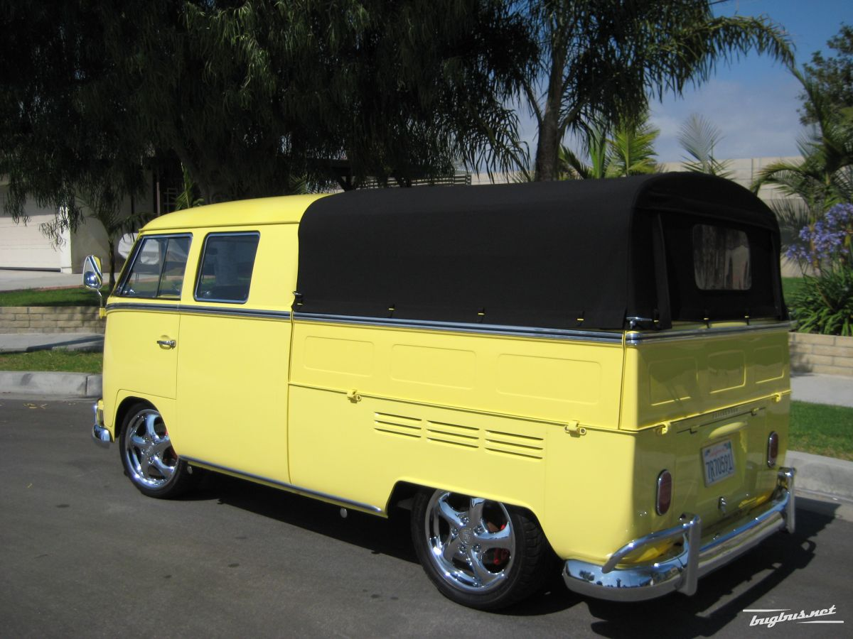 Verkaufe 1967 Vw Double Cab Usd 75 000