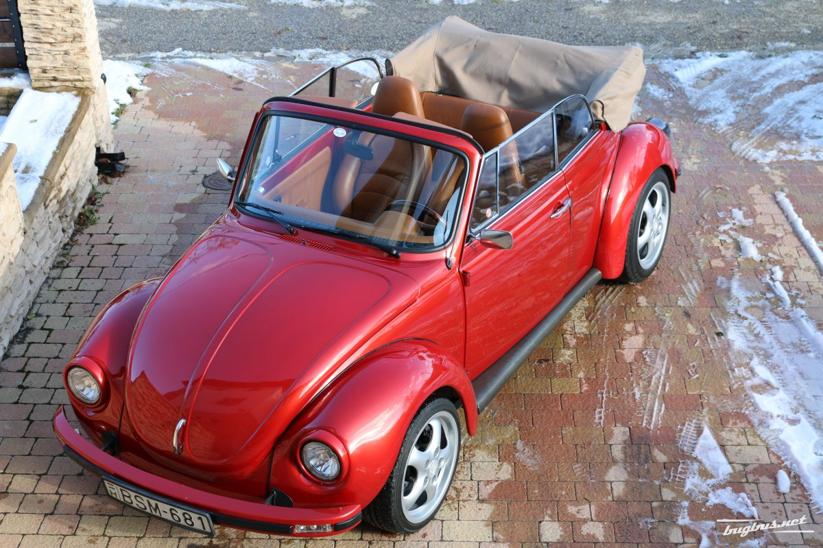 for sale vw k fer 1303 cabrio mit porsche teile eur 45000. Black Bedroom Furniture Sets. Home Design Ideas
