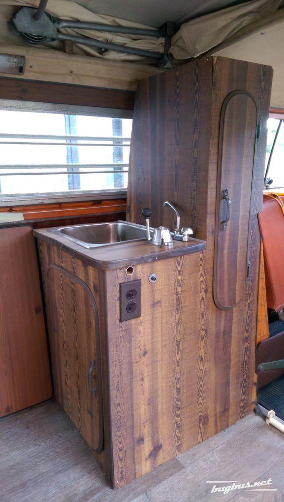 Satılık - Küchenschrank aus T2 Bay Window Riviera, EUR 199   {Küchenschrank 52}