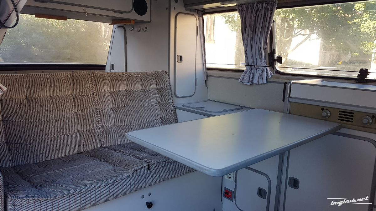 For sale bus vw type 2 t3 westfalia joker 1988 chf 20 39 000 for Interieur westfalia t3