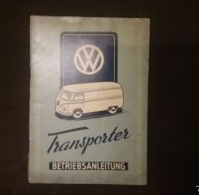 For sale - Owners Manual Volkswagen Transporter 1950, EUR 2000