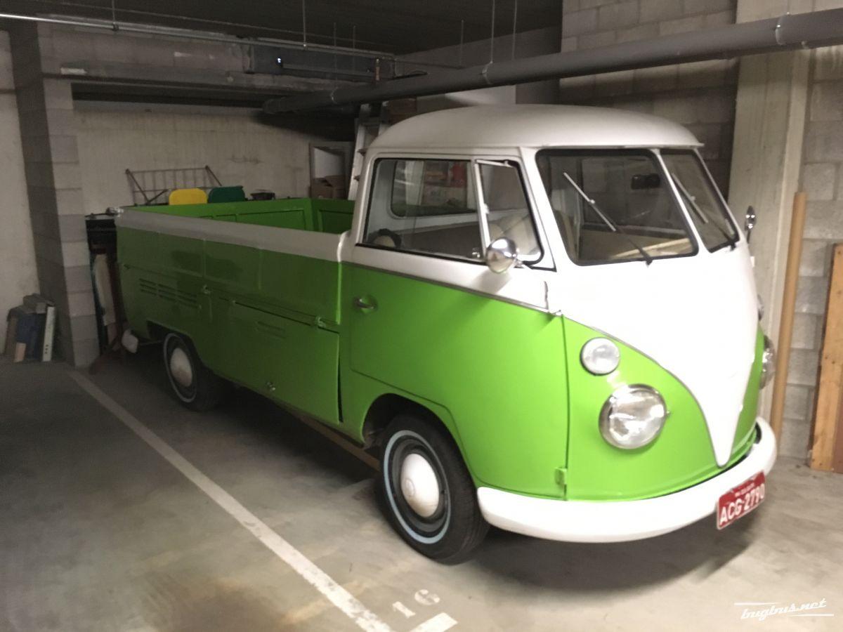 verkaufe volkswagen t1 pick up 1974 eur 17900. Black Bedroom Furniture Sets. Home Design Ideas