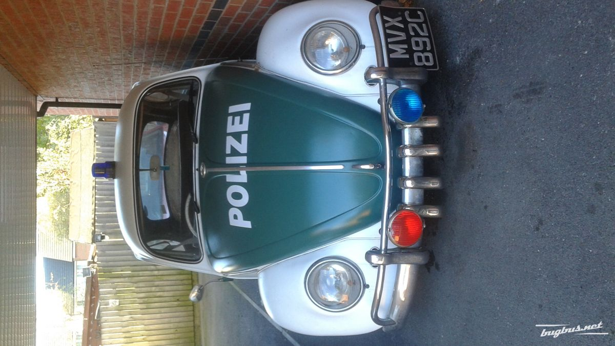 For Sale Vw Beetlerat Look German Police Car Gbp 4200 Rover P5b Fuse Box