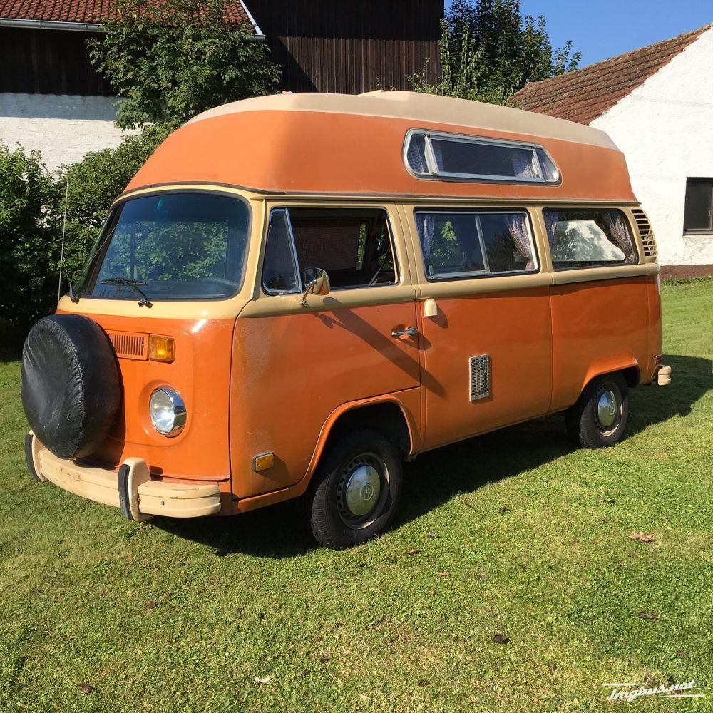 sat l k vw bus t2 1978 adventure highroof mit frischen. Black Bedroom Furniture Sets. Home Design Ideas
