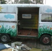 For sale - VW T2 high roof, EUR 1500